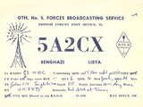 BFBS British Forces Broadcasting Service, Libya (1961)
