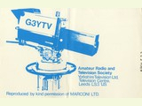 Amateur Radio and Television Society, Yorkshire Television Ltd, Leeds, England...