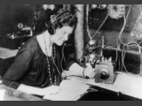 USA - Eunice Randall, 1921 at Radio 1XE