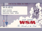 WSM Radio, Shield Stations Broadcast Services, Nashville, Tennessee, USA (1967)